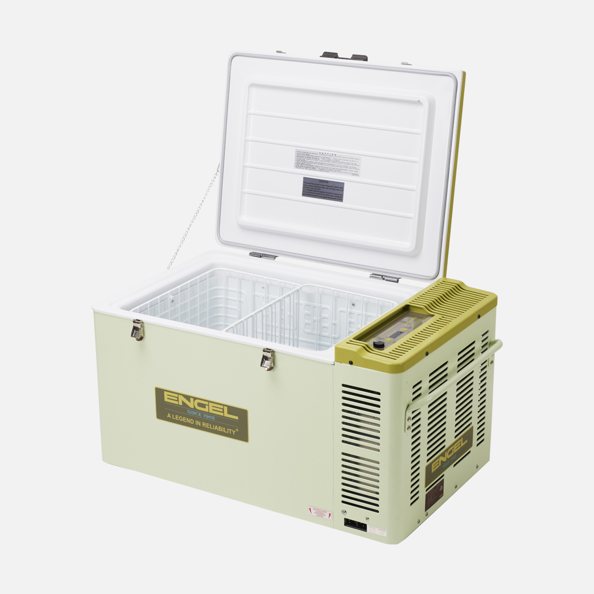 Engel portable fridg/freezer 60L open