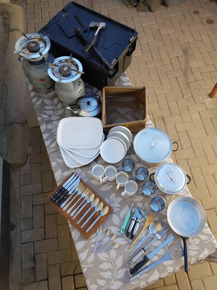 Küchenbox 1+2 für 4 Personen
